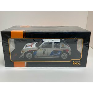 ixo models 1/18 (18RMC049C) Peugeot 205 T16 E2 #8 Rally Monte Carlo 1986 B.Saby / J.Fauchille modelcarshop-ss43
