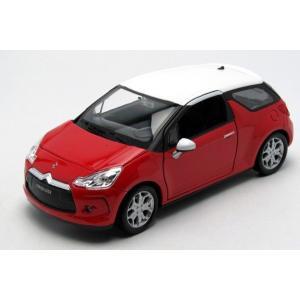 1/24 ウィリー シトロエン 赤 10 CITROEN DS3 modelcarshop-ss43
