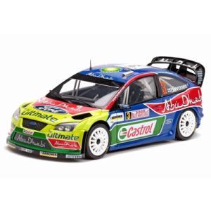 1/18 サンスターのミニカー フォードフォーカス RS WRC #3 FORD FOCUS RS WRC #3|modelcarshop-ss43