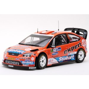 1/18 25%OFF  サンスター ミニカー  フォード フォーカス RS WRC08 #6 FORD FOCUS RS WRC08 #6|modelcarshop-ss43