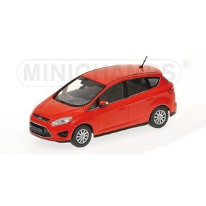 MINI CHAMPS 1/43 (400 089000) FORD C-MAX COMPACT 2010 RED modelcarshop-ss43