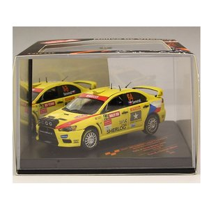 1/43 VITESSE ミニカー 三菱 MITSUBISHI LANCER EVOLUTION X #64 2009 Pirelli STAR DRIVER 3rd Gr.N Rally of Great Britain|modelcarshop-ss43