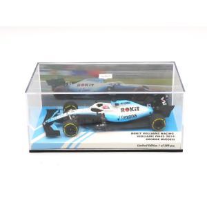 MINICHAMPS 1/43 (447 190063) ROKIT WILLIAMS RACING WILLIAMS FW42 #63 F1 2019 G.Russell modelcarshop-ss43