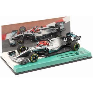 MINICHAMPS 1/43 (447 190644) Mercedes-AMG F1 W10 #44 Monaco GP F1 Weltmeister 2019 L. Hamilton modelcarshop-ss43
