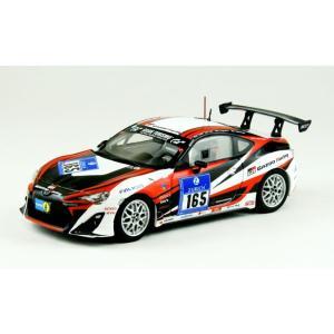 1/43 EBBRO ミニカー  トヨタ 86 ニュルブルクリンク 24時間 2012年 #165|modelcarshop-ss43