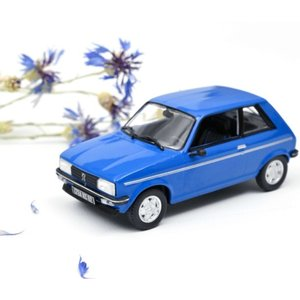 NOREV 1/43 (471404) PEUGEOT 104 ZS 1979 - IBIS BLUE modelcarshop-ss43
