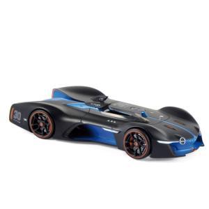 NOREV 1/43 (517847) ALPINE VISION GRAN TURISMO 2015 BLACK MATT & BLUE modelcarshop-ss43