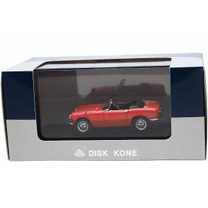 ■メーカー: DISK KONE ■スケール: 1:43 ■商品名: ホンダ S600 赤 ■品番:...