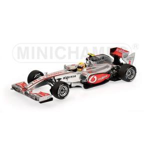 1/18 25%OFFミニチャンプス ミニカー ボーダフォン マクラーレン メルセデス 2010 ショーカーVodafone McLaren Mercedes 2010 Showcar L.Hamilton|modelcarshop-ss43