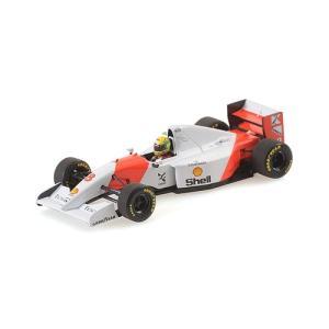 MINI CHAMPS 1/43 (540 934378) McLAREN FORD MP4/8 WINNER JAPANESE GP 1993 AYRTON SENNA modelcarshop-ss43