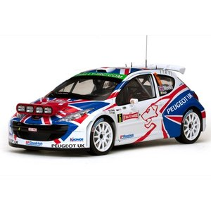 Sun Star 1/18 (5497) Peugeot 207 S2000 #6 Winner Rallye Sanremo 2009|modelcarshop-ss43