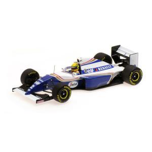 MINICHAMPS 1/43 (547 940102) WILLIAMS RENAULT FW16 #2 BRAZIL GP 1994 AYRTON SENNA modelcarshop-ss43