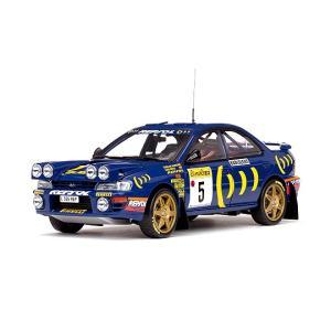 1/18 サンスター ミニカー スバル インプレッサ 555 ラリーモンテカルロ 1995 SUBARU IMPREZA 555 Winner Rally MonteCarlo1995 C.Sainz|modelcarshop-ss43