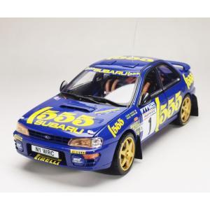 Sun Star 1/18 (5516) Subaru Impreza 555 #1 Winner Rallye Catalunya 1996 C.McRae / D.Ringer|modelcarshop-ss43