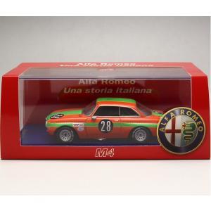 1/43 M4 ミニカー アルファロメオ*ALFAROMEO GTAm-Zandvoort 1970|modelcarshop-ss43