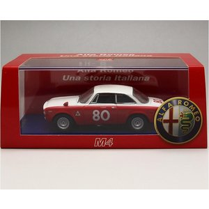 1/43 M4 ミニカー アルファロメオ *ALFAROMEO Giulia 1600 GTA Vallelunga 1967-I.Giunti|modelcarshop-ss43