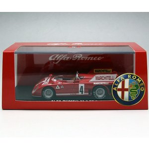 1/43 M4 ミニカー アルファロメオ *ALFAROMEO 33.3 TT 3 Targa Florio 1974|modelcarshop-ss43