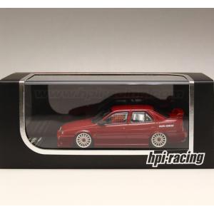 1/43 エイチピーアイ レーシング ミニカー Alfa Romeo 155 TS Silverstone (Plain Color Model:Red)|modelcarshop-ss43