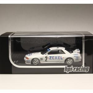 1/43 エイチピーアイ レーシング ミニカー ZEXEL SKYLINE (#2) 1992 N1|modelcarshop-ss43