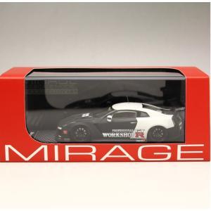 1/43 エイチピーアイ レーシング ミラージュ ミニカー Nissan GT-R (R35) TR35 GT800-R 2010 Test car|modelcarshop-ss43