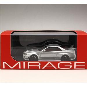 1/43 エイチピーアイ レーシング ミラージュ ミニカー Nismo R34 GT-R Z-tune Silver|modelcarshop-ss43