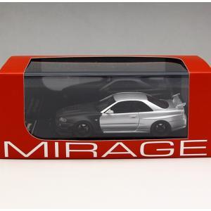1/43 エイチピーアイ レーシング ミラージュ ミニカーNismo R34 GT-R Ztune Test 2004 Suzuka|modelcarshop-ss43