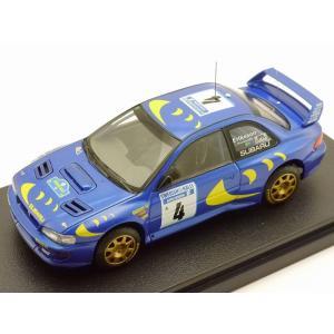 1/43 エイチピーアイ レーシング ミニカー スバル インプレッサ WRC 1997年 #4 スウェディッシュラリー|modelcarshop-ss43