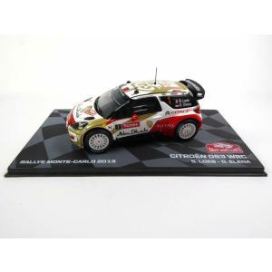 Altaya 1/43 (86527) CITROEN DS3 WRC #1 RALLY Monte Carlo 2013 S. LOEB / D.ELENA|modelcarshop-ss43