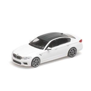 MINI CHAMPS 1/87 (870 028000) BMW M5 2018 WHITE modelcarshop-ss43
