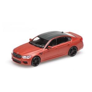 MINI CHAMPS 1/87 (870 028004) BMW M5 2018 MATT RED modelcarshop-ss43