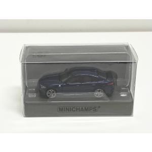 MINI CHAMPS 1/87 (870 120102) ALFA ROMEO GIULIA QUADRIFOGLIO 2017 BLUE METALLIC modelcarshop-ss43