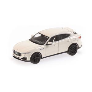 MINI CHAMPS 1/87 (870 123202) MASERATI LEVANTE 2018 WHITE modelcarshop-ss43