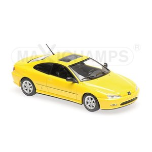 MINI CHAMPS 1/43 (940 112621) PEUGEOT 406 COUPE YELLOW modelcarshop-ss43