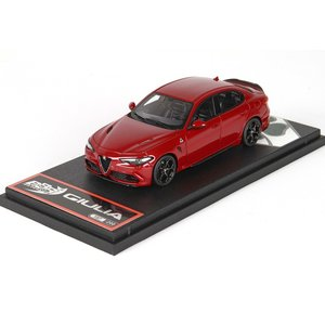1/43 BBR MODELS ミニカー アルファロメオ ジュリア Alfa Romeo Giulia Quadrifoglio Competition Red modelcarshop-ss43
