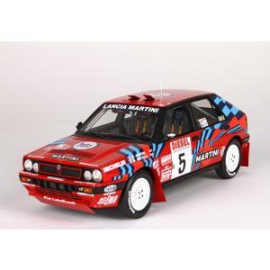 1/18 BBR MODELS ミニカー ランチア デルタ インテグラーレ Lancia Delta HF Integrale 16V Sanremo 1989 #5 modelcarshop-ss43
