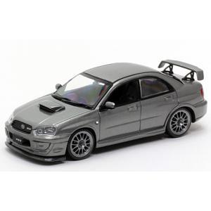 1/43 CAR-NEL ミニカー スバル インプレッサ Subaru Impreza S203 2005 (Crystalgrey metallic)|modelcarshop-ss43