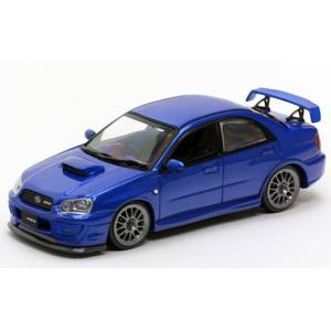1/43 CAR-NEL ミニカー スバル インプレッサ Subaru Impreza S203 2005 (WRblue mica)|modelcarshop-ss43