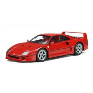 GT SPIRIT 1/18 (GT291) Ferrari F40 (Red)|modelcarshop-ss43