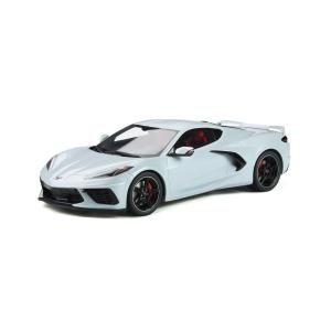 GT SPIRIT 1/18 (GT835) Chevrolet Corvette C8 2020 (Ceramic Gray)|modelcarshop-ss43