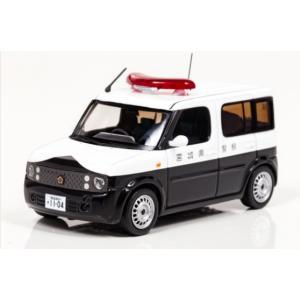 1/43 レイズ ミニカー 日産 キューブ 1.5 2005 宮城県警察所轄署警ら車両|modelcarshop-ss43