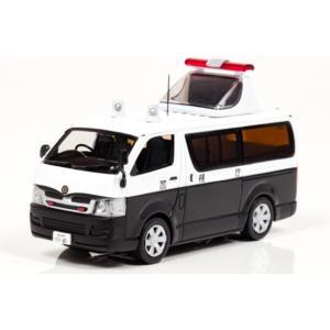 1/43 レイズ ミニカー トヨタ ハイエース DX 5 door 2006 警視庁高速道路交通警察隊誘導標|modelcarshop-ss43