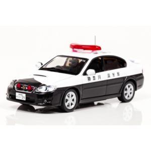 1/43 レイズ ミニカー スバル レガシィ SUBARU LEGACY B4 2.0GT 2007 神奈川県警察高速道路交通警察隊車両 (516)|modelcarshop-ss43