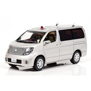 1/43 レイズ ミニカー 日産 エルグランド (E51) 2008 神奈川県警察交通部交通捜査課暴走族対策室車両|modelcarshop-ss43