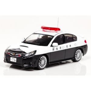 1/43 レイズ ミニカー スバル レガシィ SUBARU LEGACY B4 2.5GT S Package 2010 奈良県警察高速道路交通警察隊車両 (317)|modelcarshop-ss43