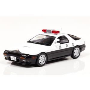 1/43 レイズ ミニカー Mazda RX-7 (FC3S) 1989 警視庁高速道路交通警察隊車両|modelcarshop-ss43