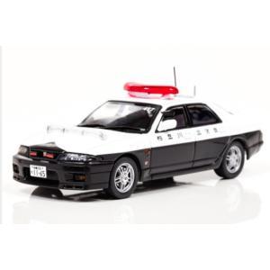 1/43 レイズ ミニカー Nissan SKYLINE GT-R GT-R Autech Version 1998 神奈川県警察交通部交通機動隊車両|modelcarshop-ss43