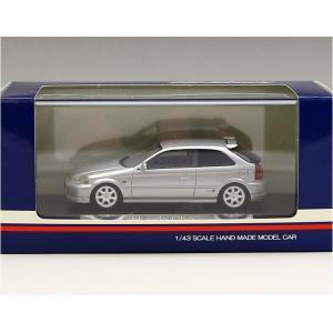 1/43 ハイストーリー ミニカー ホンダ シビック Honda CIVIC (1997 Type R) VOGUE SILVER MERALLIC|modelcarshop-ss43