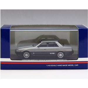 1/43 ハイストーリー ミニカー ニッサン スカイライン セダン NISSAN SKYLINE SEDAN (1984 2000 TURBO INTERCOOLER RS-X) SILVER|modelcarshop-ss43