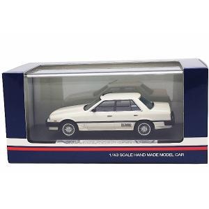 1/43 ハイストーリー ミニカー ニッサン スカイライン  NISSAN SKYLINE SEDAN(1984 2000 TURBO INTERCOOLER RS-X)WHITE|modelcarshop-ss43