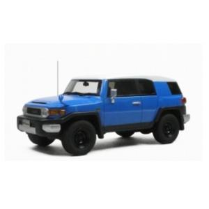 1/43 ハイストーリー ミニカー トヨタ TOYOTA FJ CRUISER(Color Package 2010)Two tone Blue|modelcarshop-ss43